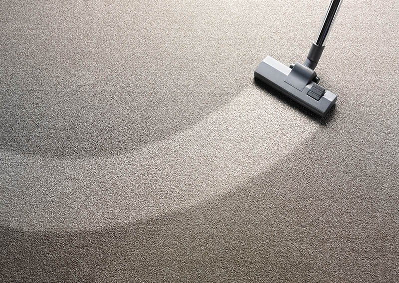 Image of a steam carpet cleaning St. Louis
